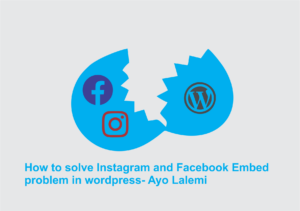solve Instagram and Facebook oEmbed problem in wordpress